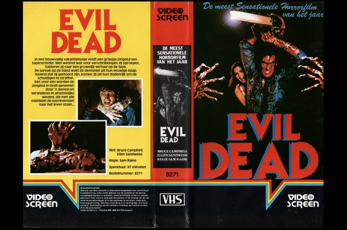 THE EVIL DEAD - VIDEO SCREEN-19??-NETHERLANDS.